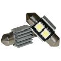 LED 12V 31mm 2-SMD 3 chip Wit CAN-BUS