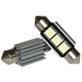 LED 12V 37mm 2-SMD 3 chip Wit CAN-BUS