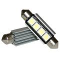 LED 12V 42mm 2-SMD 3 chip Wit CAN-BUS